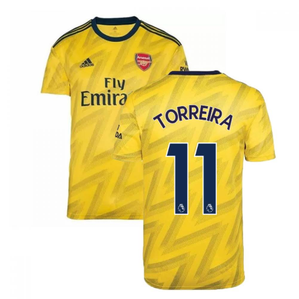 2019-2020 Arsenal Adidas Away Football Shirt (TORREIRA 11)