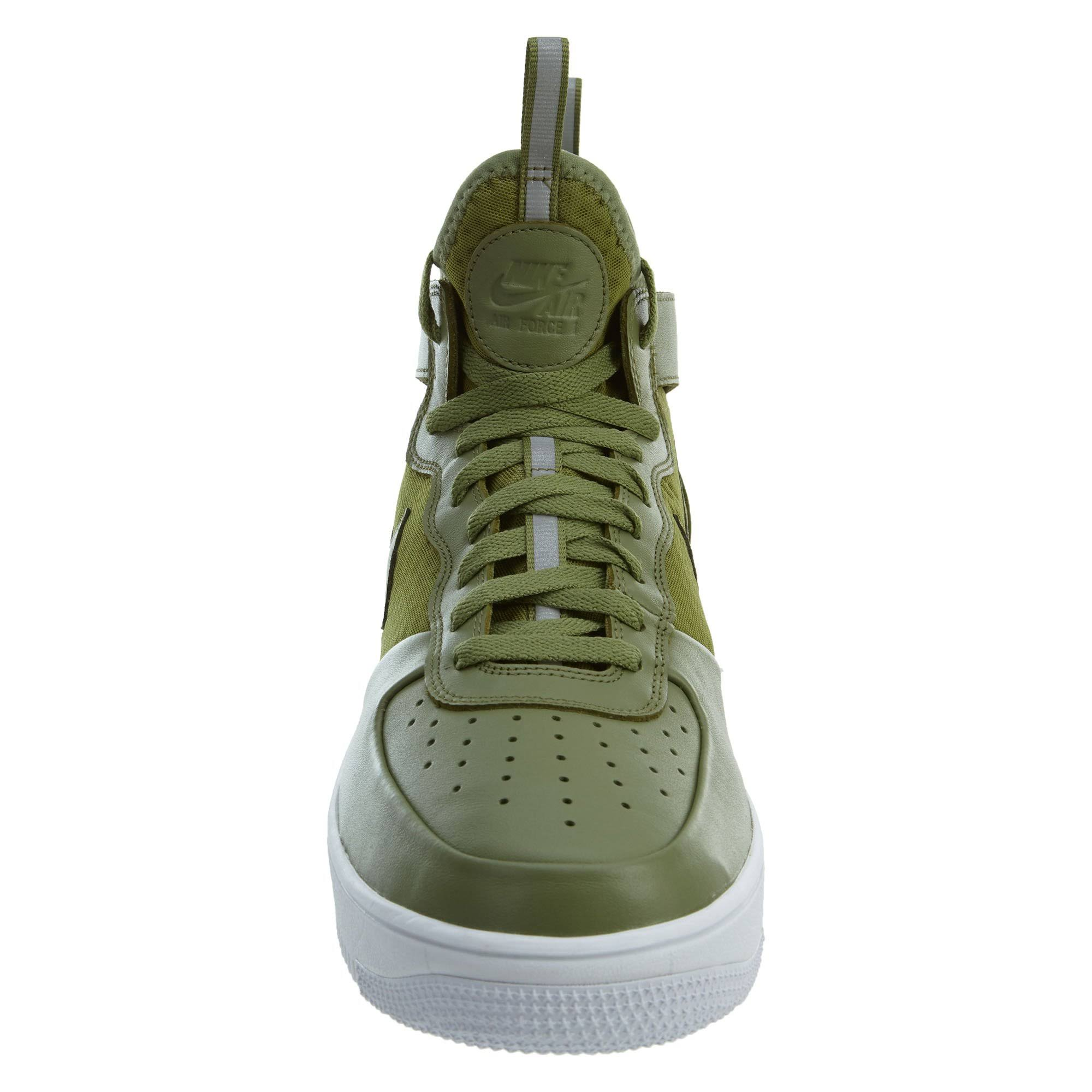 1 Force Mid Ultraforce Nike Green palm Palm Green 864014 Air Style Mens 8 white IxwqIHEC