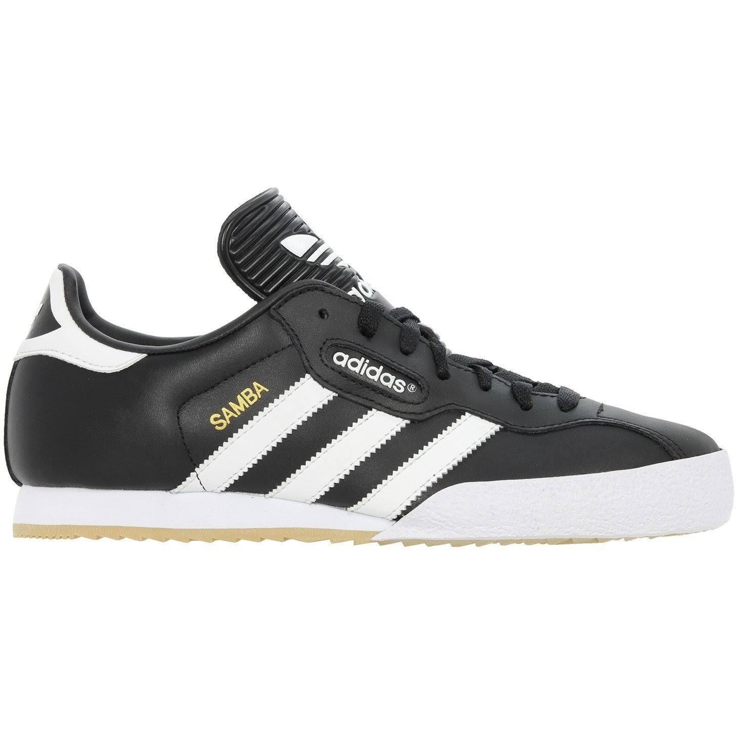 (8.5) adidas Originals Samba Super Trainers - Black