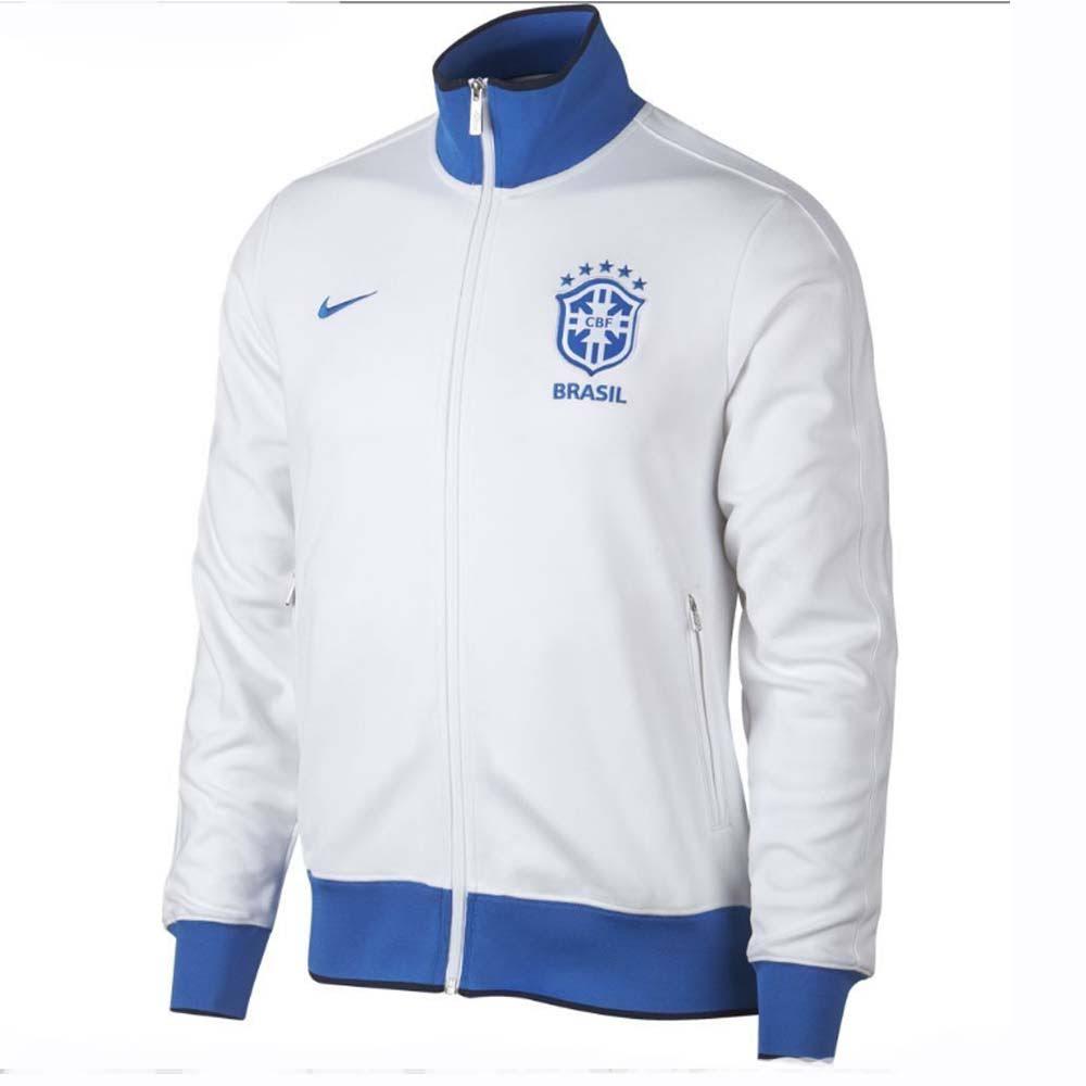 Nike Brazil 2019-2020 Authentic N98 Jacket (White)