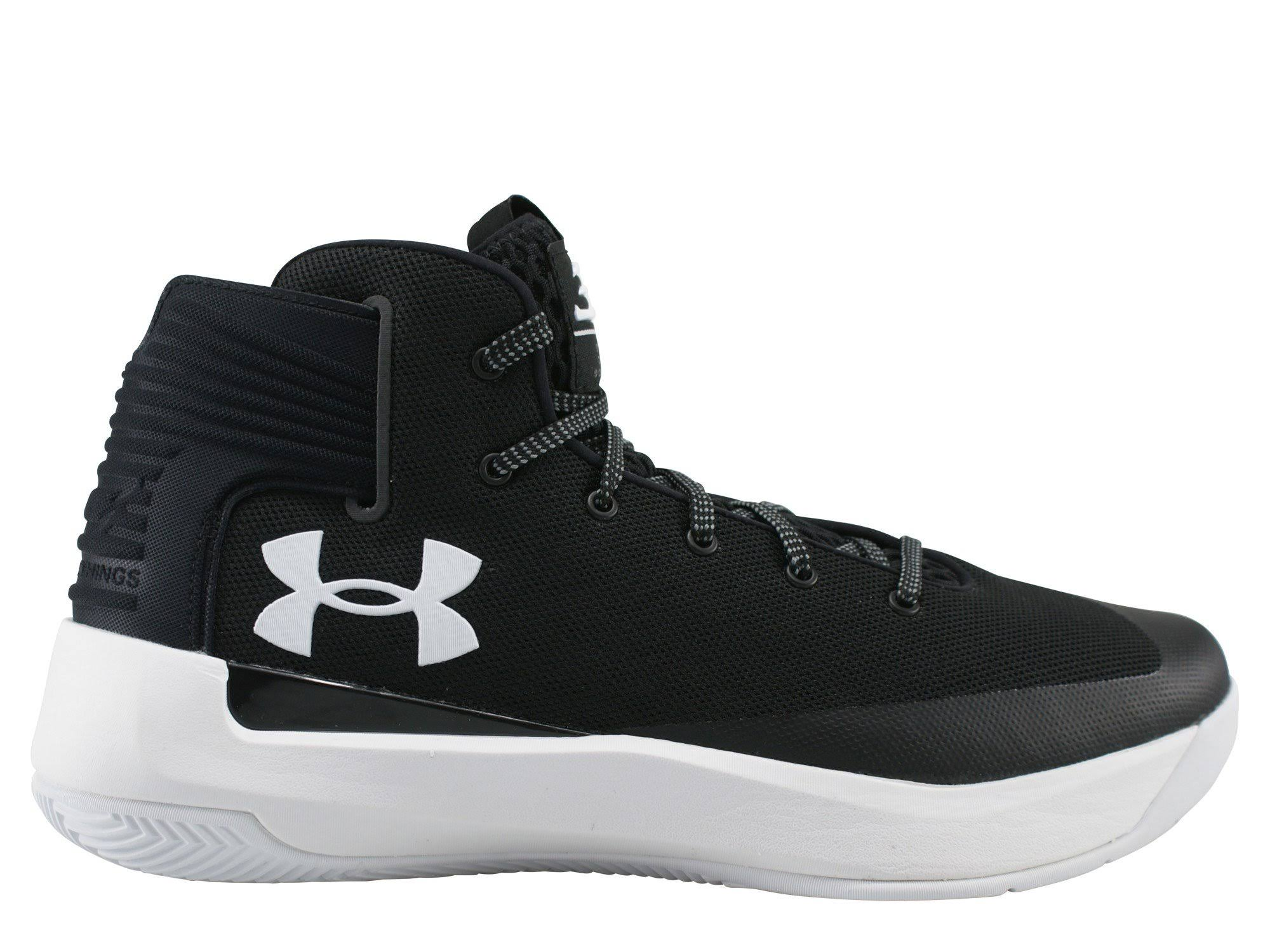 Negro De Para Zapatillas Blanco Curry Under Hombre Armour 3 Baloncesto R8wqa8F
