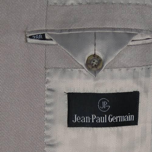 Hombre Jean Reg Corte Sage Microsuede Blazer Germain 40 paul De Clásico aApwxZn
