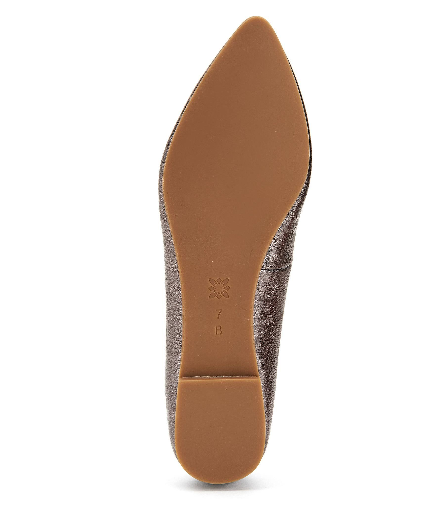 Millie Women's 5 5m Bcbgeneration Leather FlatGunmetal 8PknwOX0