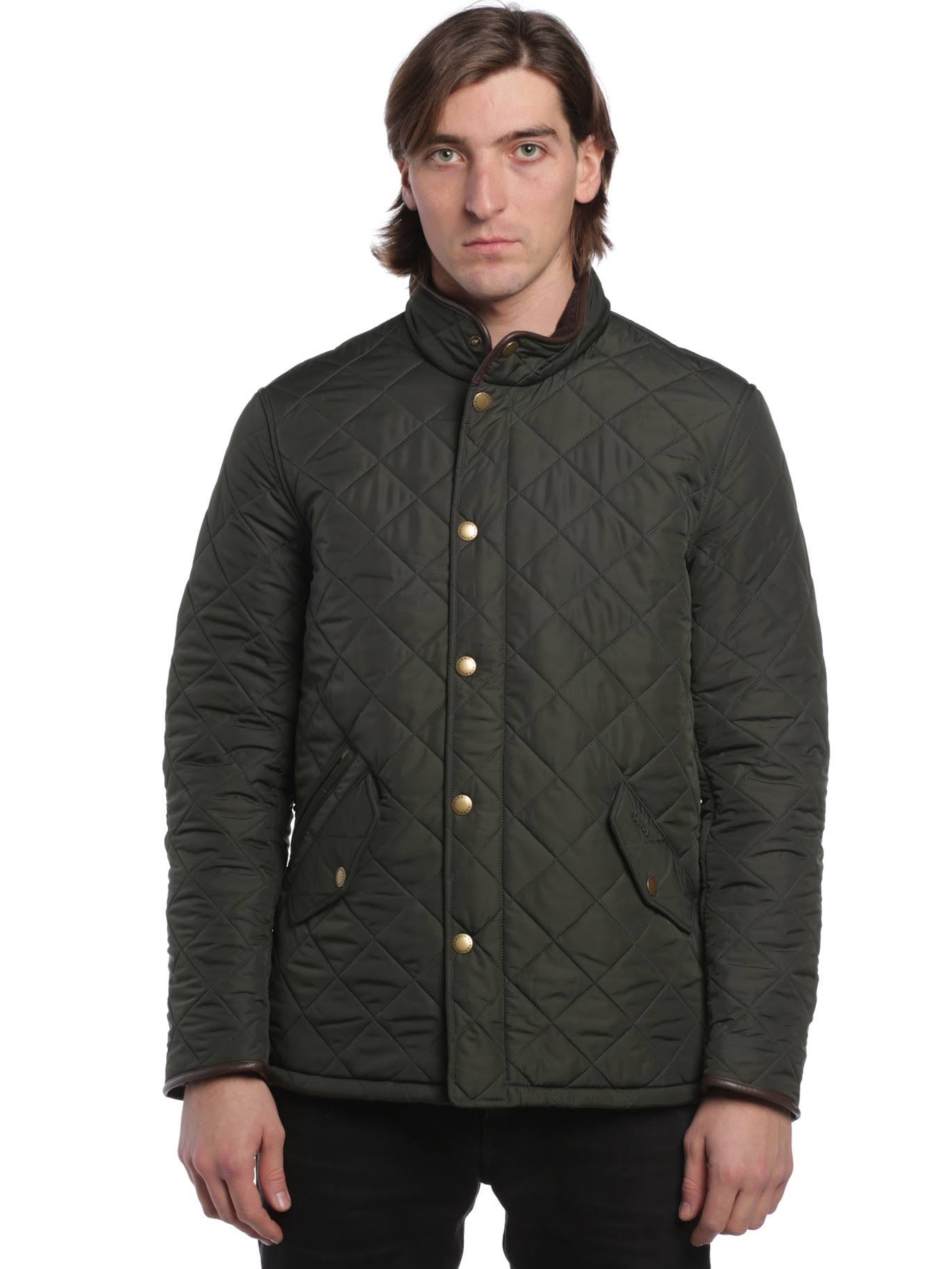 Sage Barbour Steppmantel olive Mqu0281gn72 Powell tqvrqP