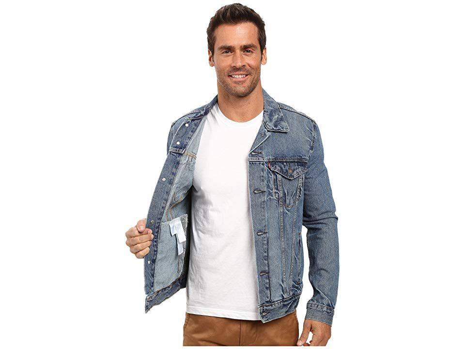 Para Spire Jacket Regular Levi's Trucker Hombre L X1nxqOz