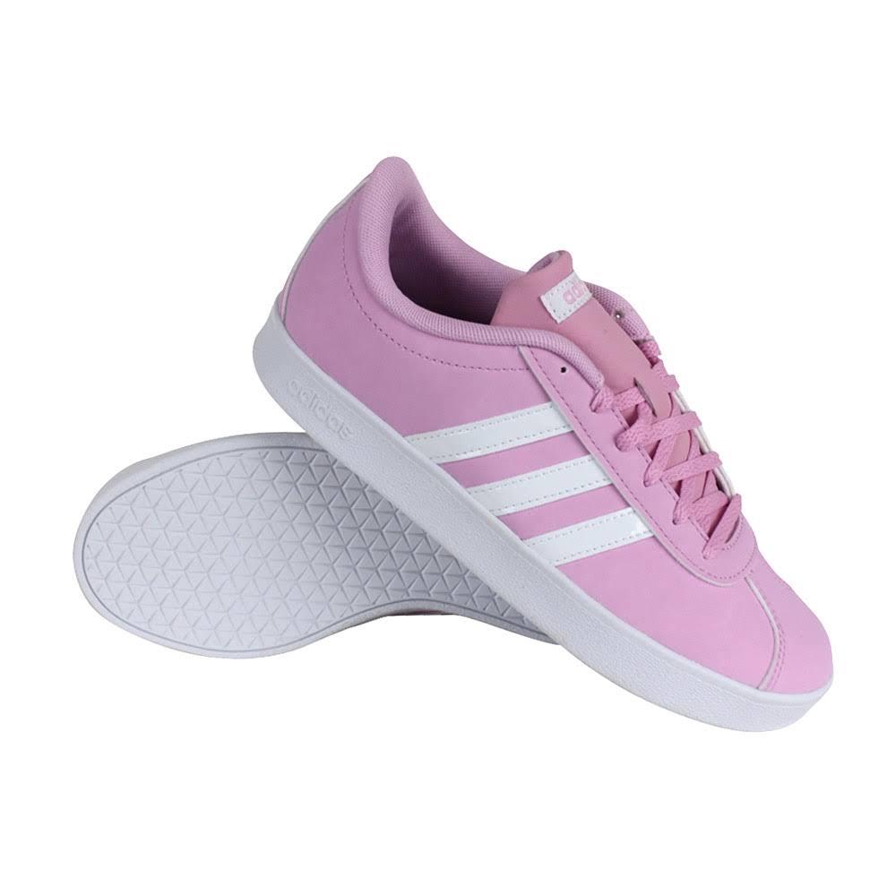 Adidas Tennis Basse Court Scarpe 20 Vl Da KragazzeRosaFtwrwhite Greytwo lF1JKTc3