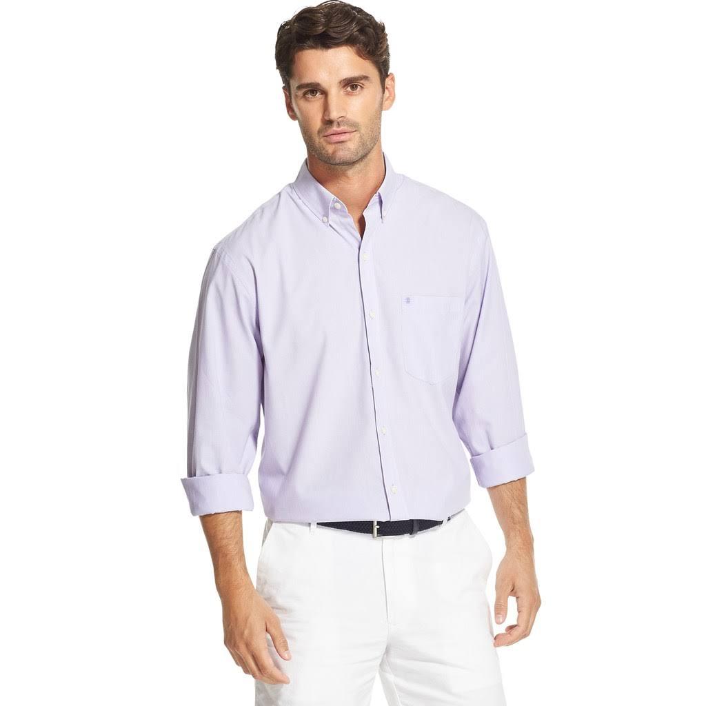 Camisa Izod Essentials Para Premium Con Hombre Tamaño Botones Xl 527 Z7qwZFr
