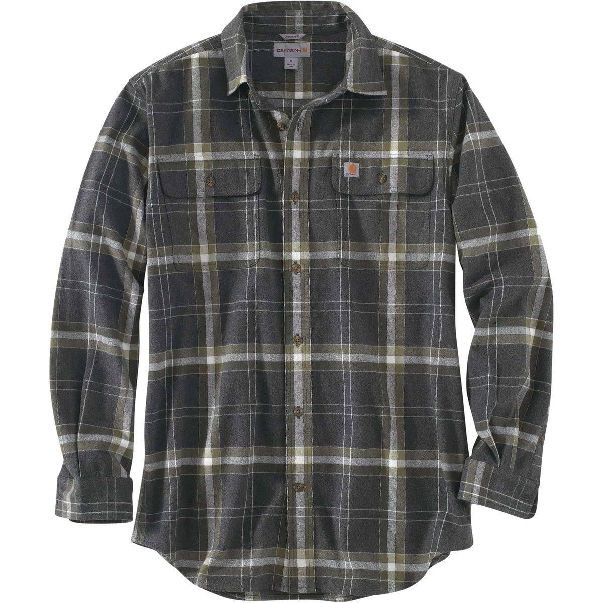 Plaid Black Small Hubbard Regular Carhartt Heather Hombre Para Shirt q7FB5xX0