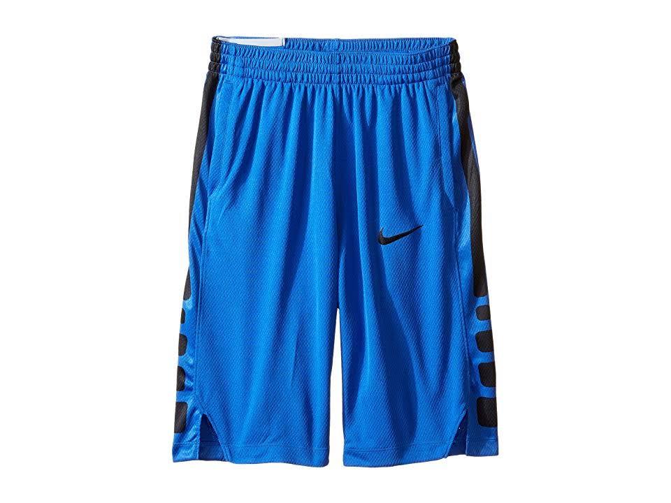 Dry Blau Größe Shorts Large Nike Basketball Jungen Elite Stripe 5qa4q