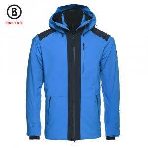 Bogner 38 Esquí Hank Fire Hombre Azul Ice Chaqueta Brillante De Para Con Aislante IapUq