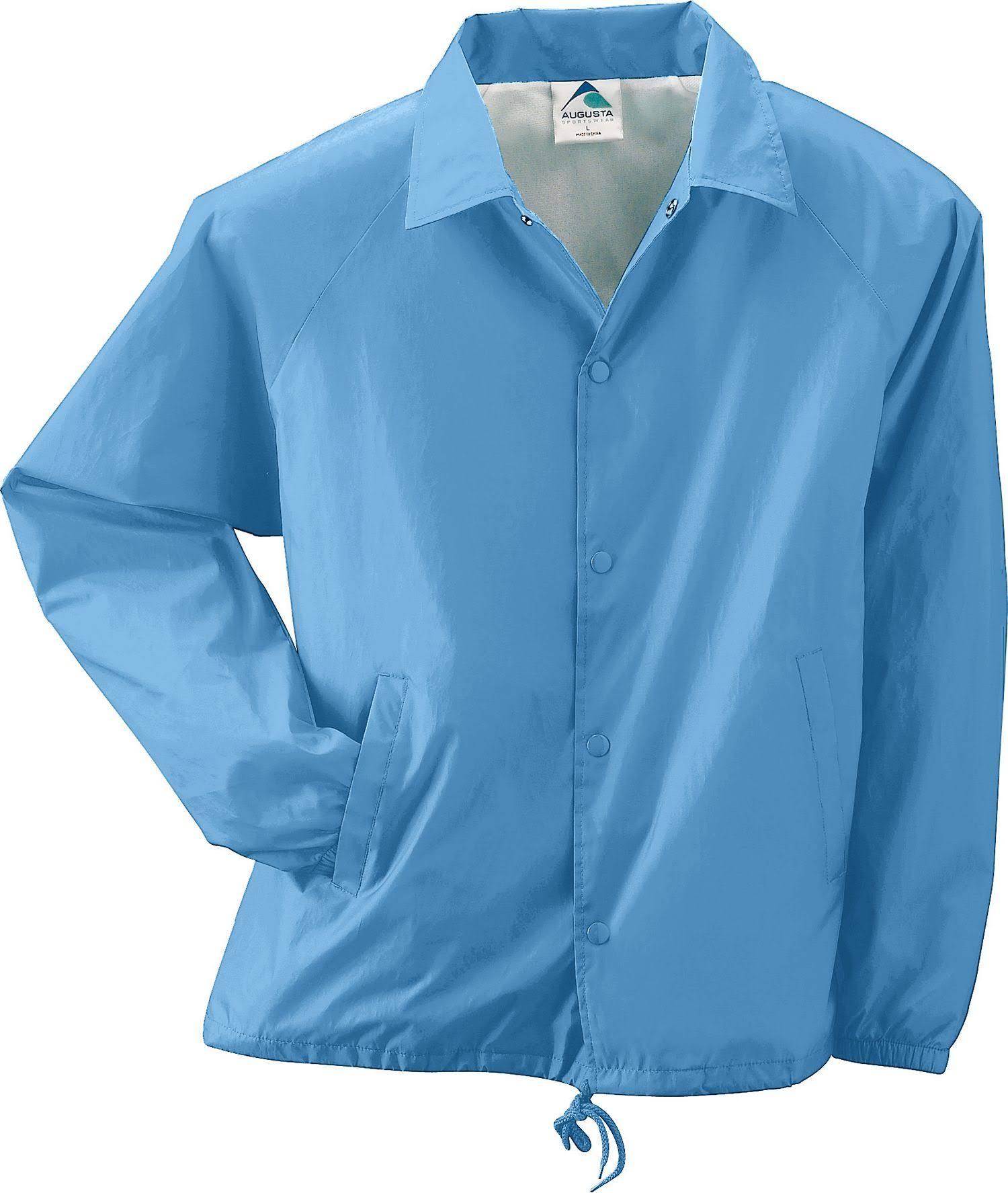Augusta Blue Coachs 3100 Sportswear Nylon L Forrada Chaqueta Columbia qazBqr