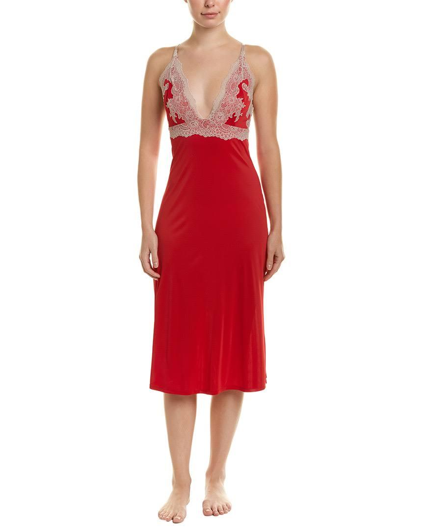 Slip Lace Mittel Frauen Größe overlay Rot Enchant Natori qEIg0wvw