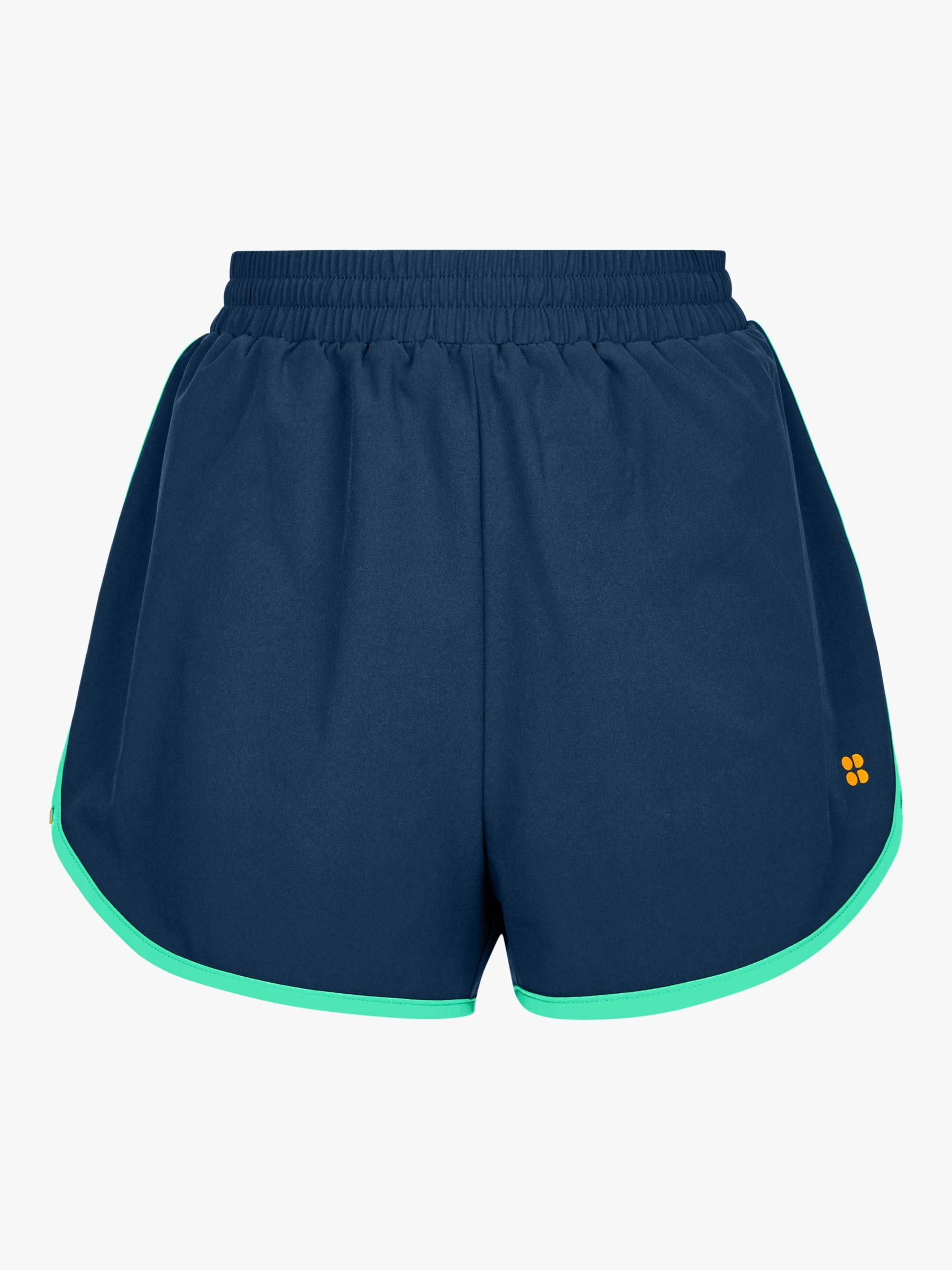 Sweaty Betty Surf Board Shorts, Beetle Blue