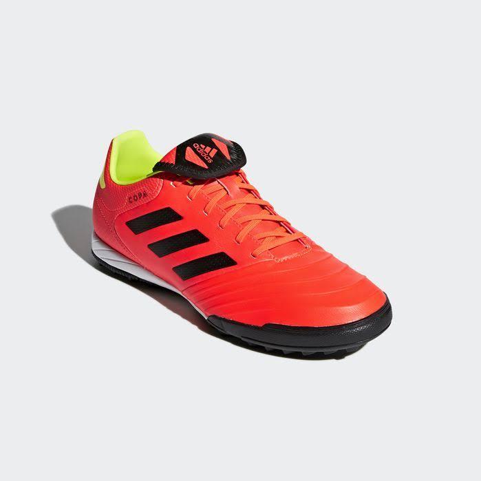 Amarillo Rojo Adidas 18 Hombre Solar Calzado Negro Para De Copa Fútbol 3 Turf Tango PBqWOA1wrP