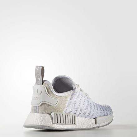 Gris Blanco Para Originals Hombre 8 Adidas Zapatos Nmd Tamaño R1 xId0adWYw