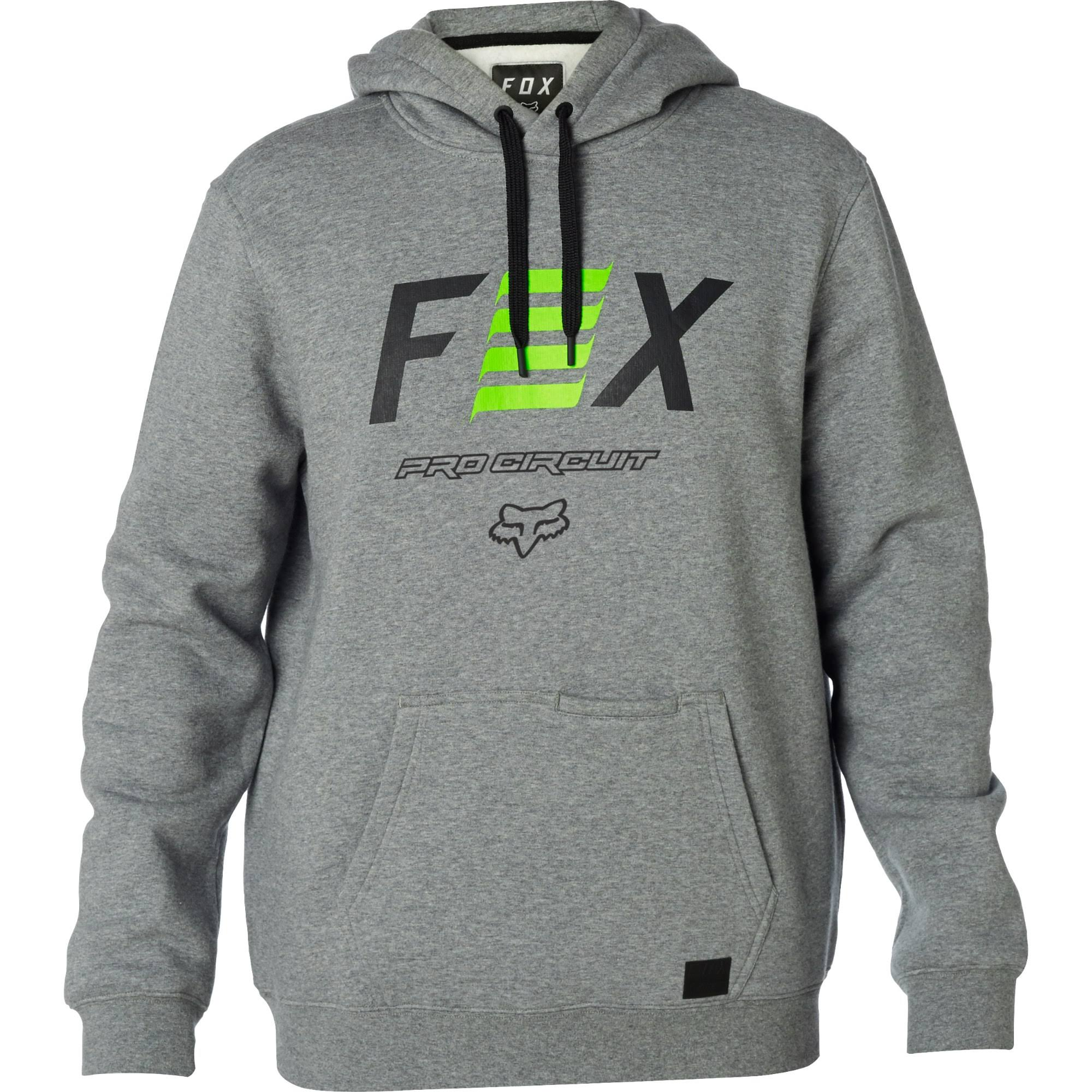 Capucha Fox Sudadera Con Pro Heather Circuit Graphite Pw0105xq