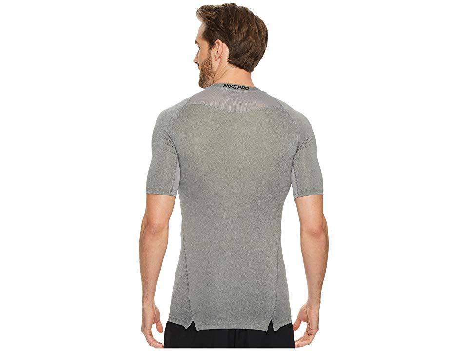 Camiseta De Negro Para Tamaño Pequeño Regular Corta Hombre Nike Manga Compresión Pro xxrgfF