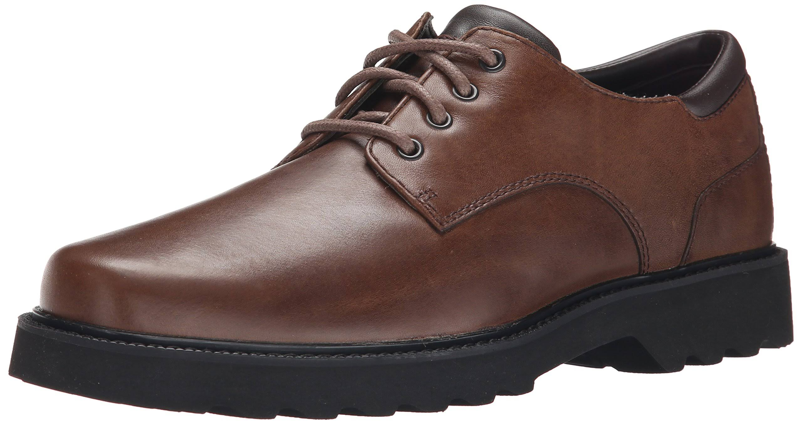 Scuro Rockport Northfield In Men's 13w Taglia Pelle Main DerbysMarrone Impermeabile Route OTwkiuPXZ