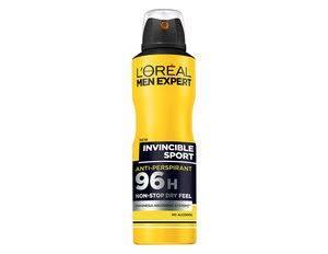Expert Sport 250ml 96h L'oréal Invincible Men Paris Deo EwwI84