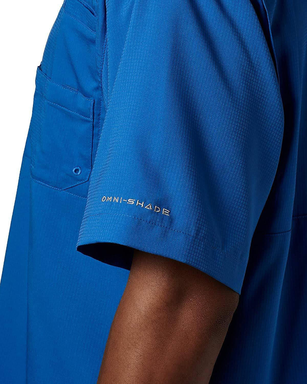Blue Kurzarmhemd Regular Ii Columbia Herren Tamiami Vivid Xl SwxZqHpqn