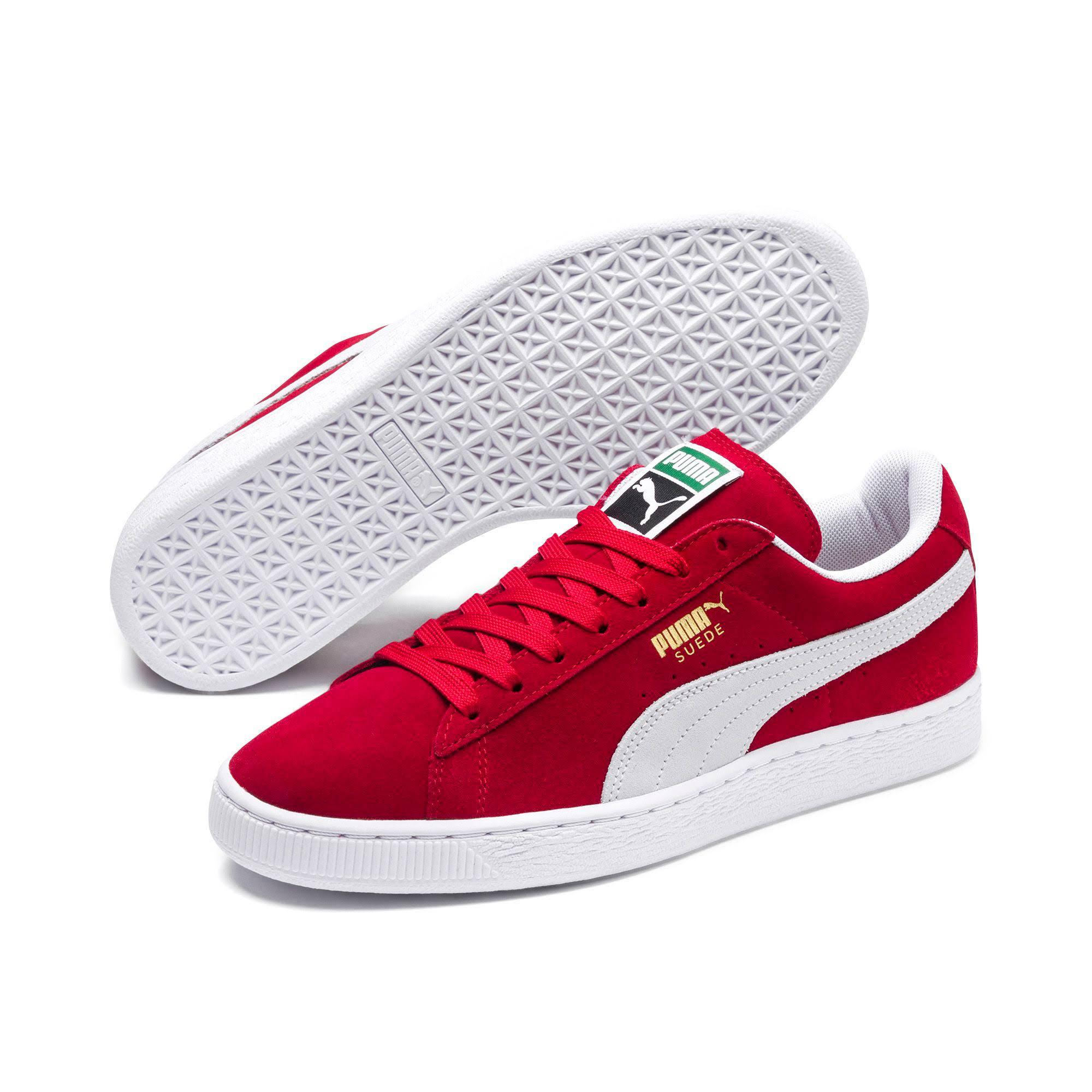 Lace Up Hombre Suede Zapatillas Rojo Classic Puma wZfHxq