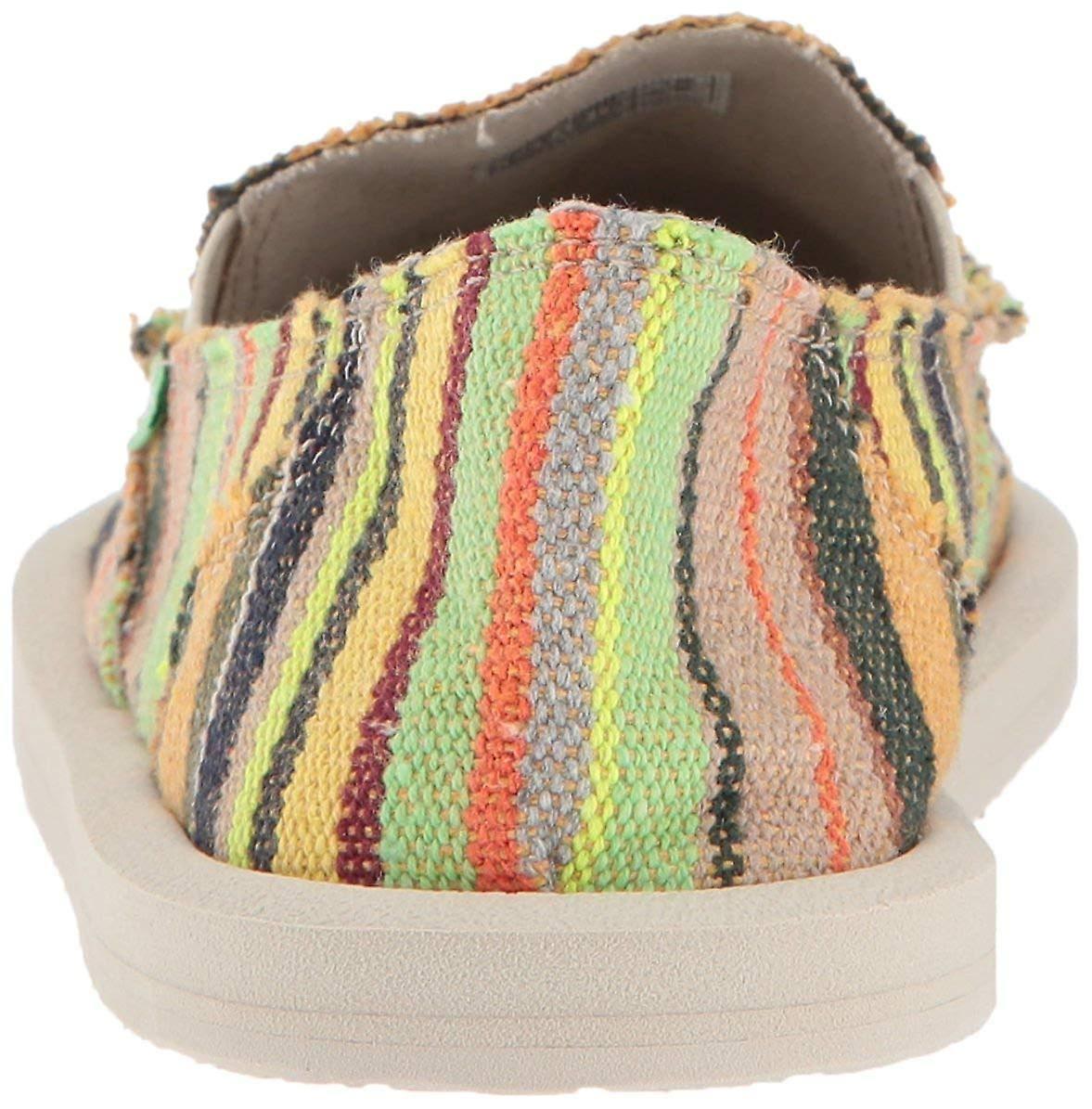 Flat Donna 5 Us3 Deken Loafer Multicolor Kauai Sanuk Vk lKJ1Fc