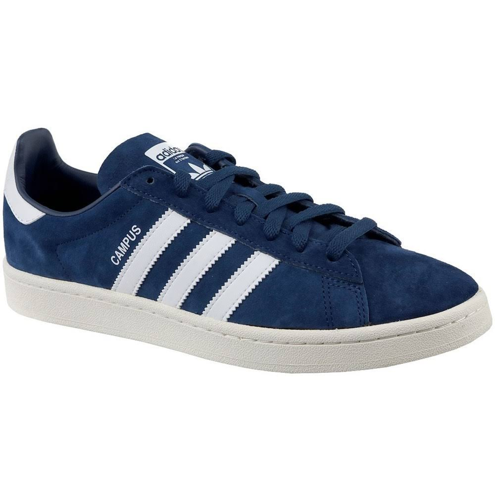 Darkblue Adidas Bz0086 Blue Ftwrwhite Campus Originals Chalkwhite Sneakers In qP6YU