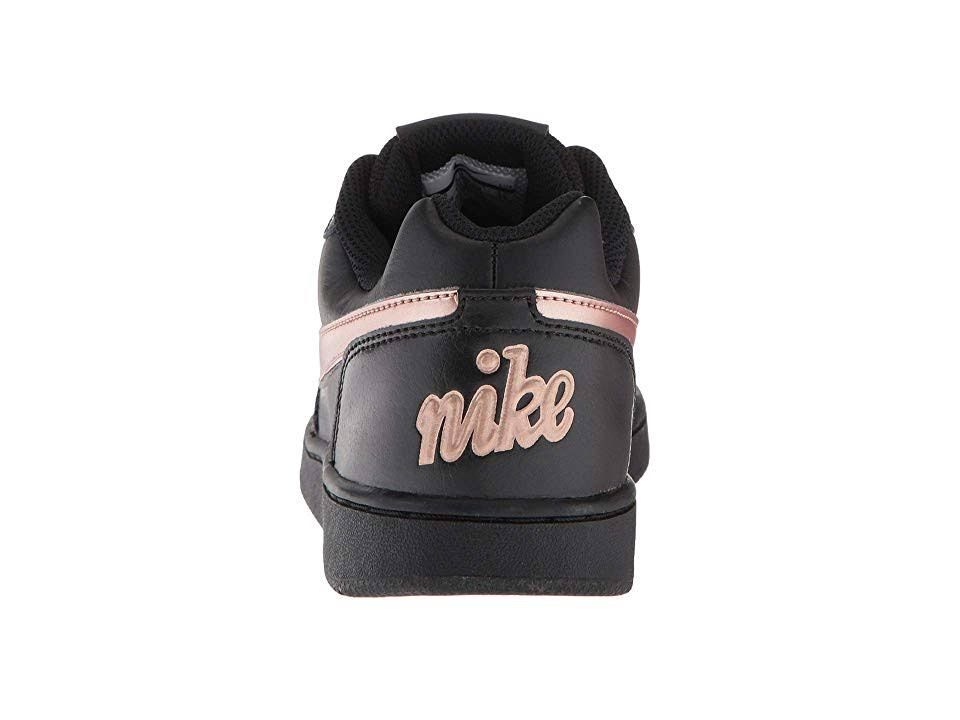 Black Shoes rose Ebernon Sneakers top Low Nike Gold Womens nqWw6fvfB7