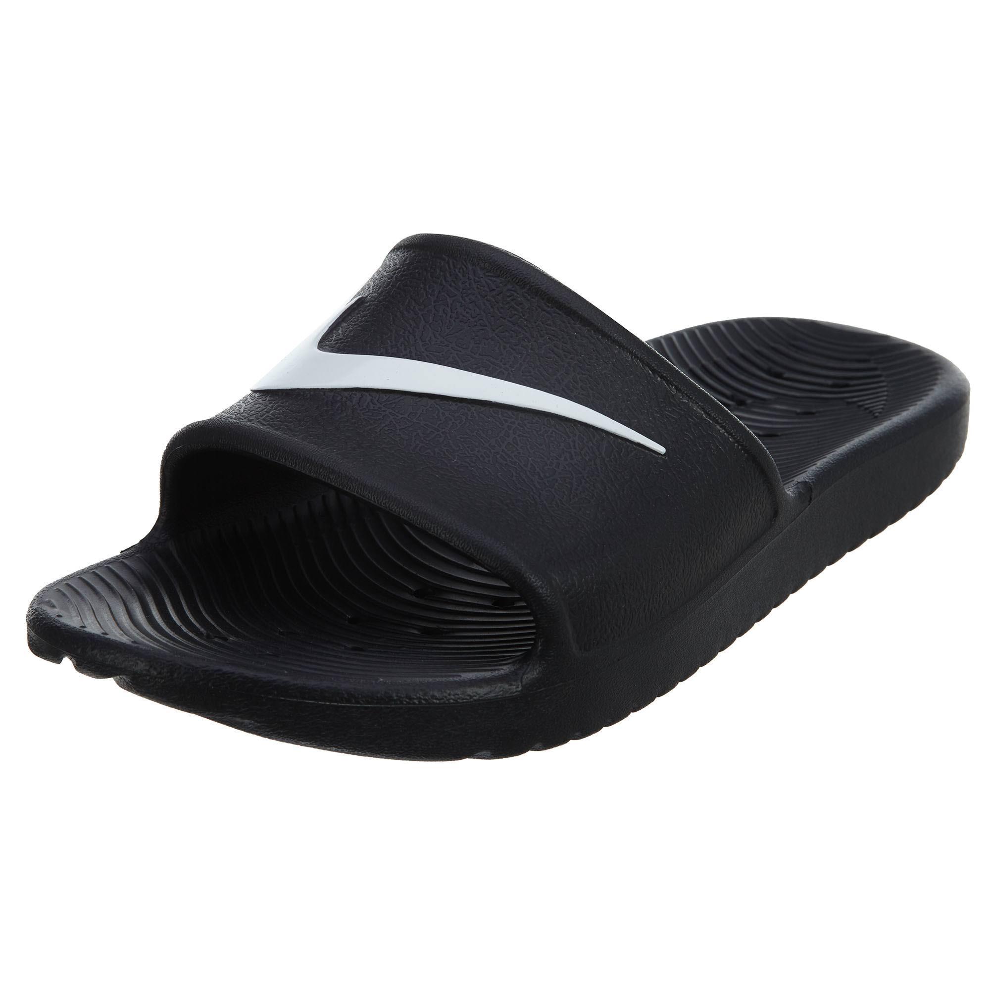 832655 Shower 001 Sandalen Kawa Schwarz Weiß Frauen Nike 0Ytq5ndaa