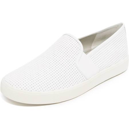 5 Blair Blanco Vince Perforadas 35eu Zapatillas Mujer Slip Blanco on Para Zxwg1wO6
