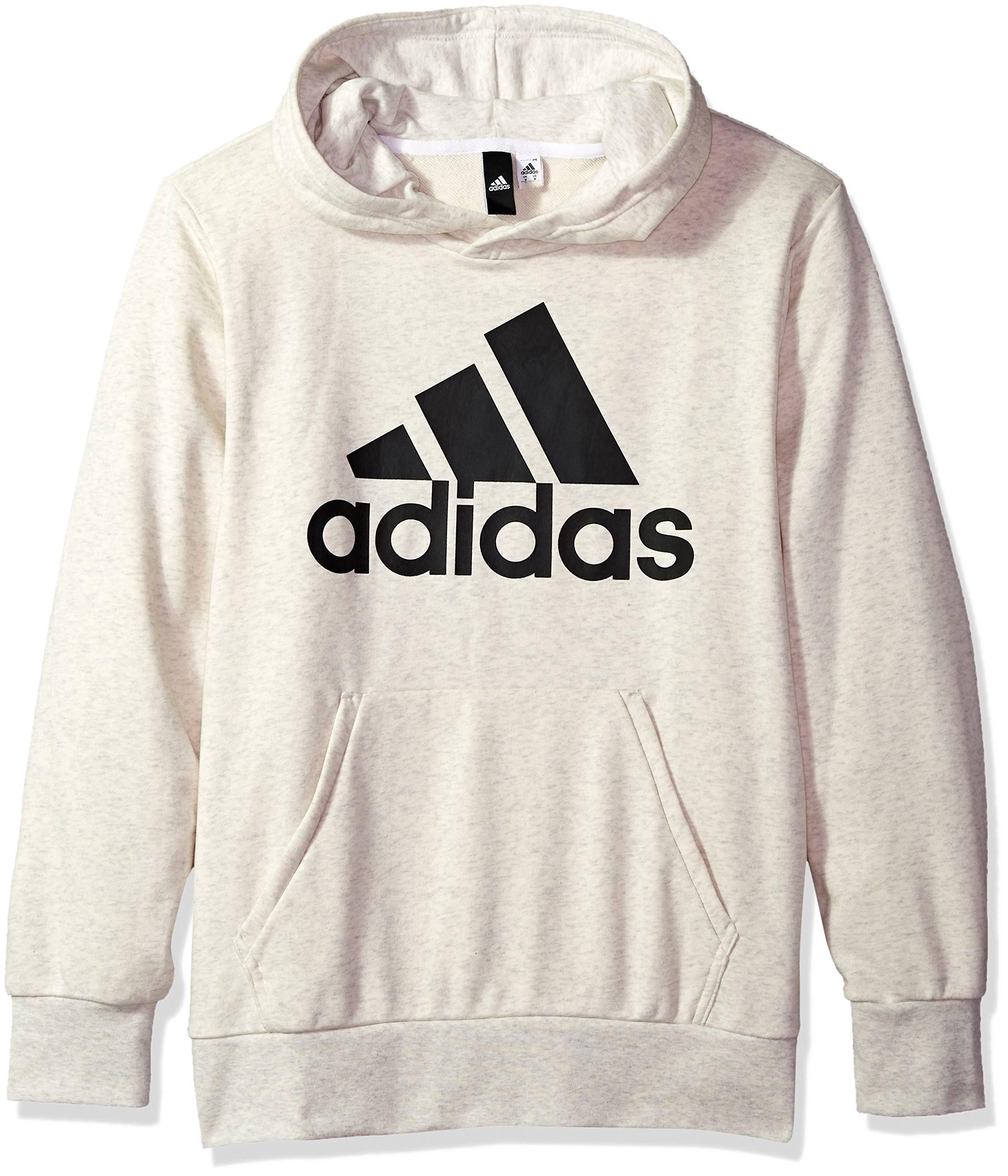 Essentials con Xl Linear Felpa bianco cappuccio Pullover adidas uomo eE2DIH9WY
