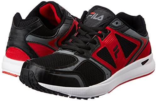 Red Fila Black Speed Shoes Pro Black Men amp; Grey And Running FtprtRwq