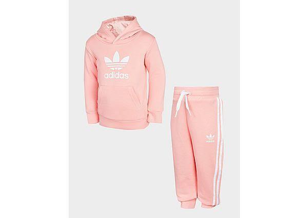 Adidas Originals Girls' Trefoil Tracksuit Infant - Pink - Kids