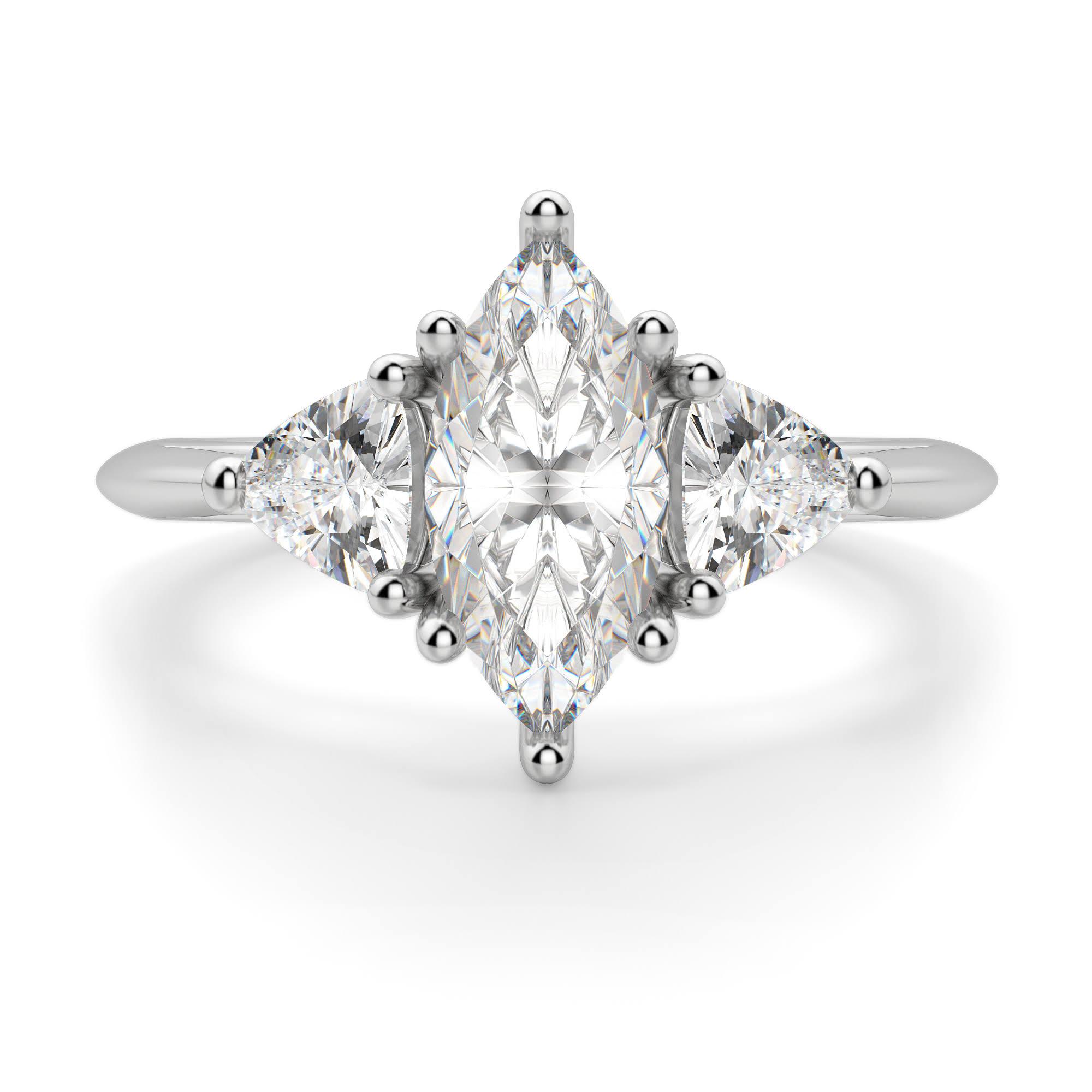 verlobungsring Diamond Unterschiedlich Zeitloser Marquise Nexus wWOnYq8X