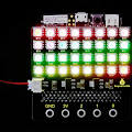 !keyestudio Sk6812 4x8 Led Rgb Dot <b>Matrix</b> Board Module For <b>Bbc</b>