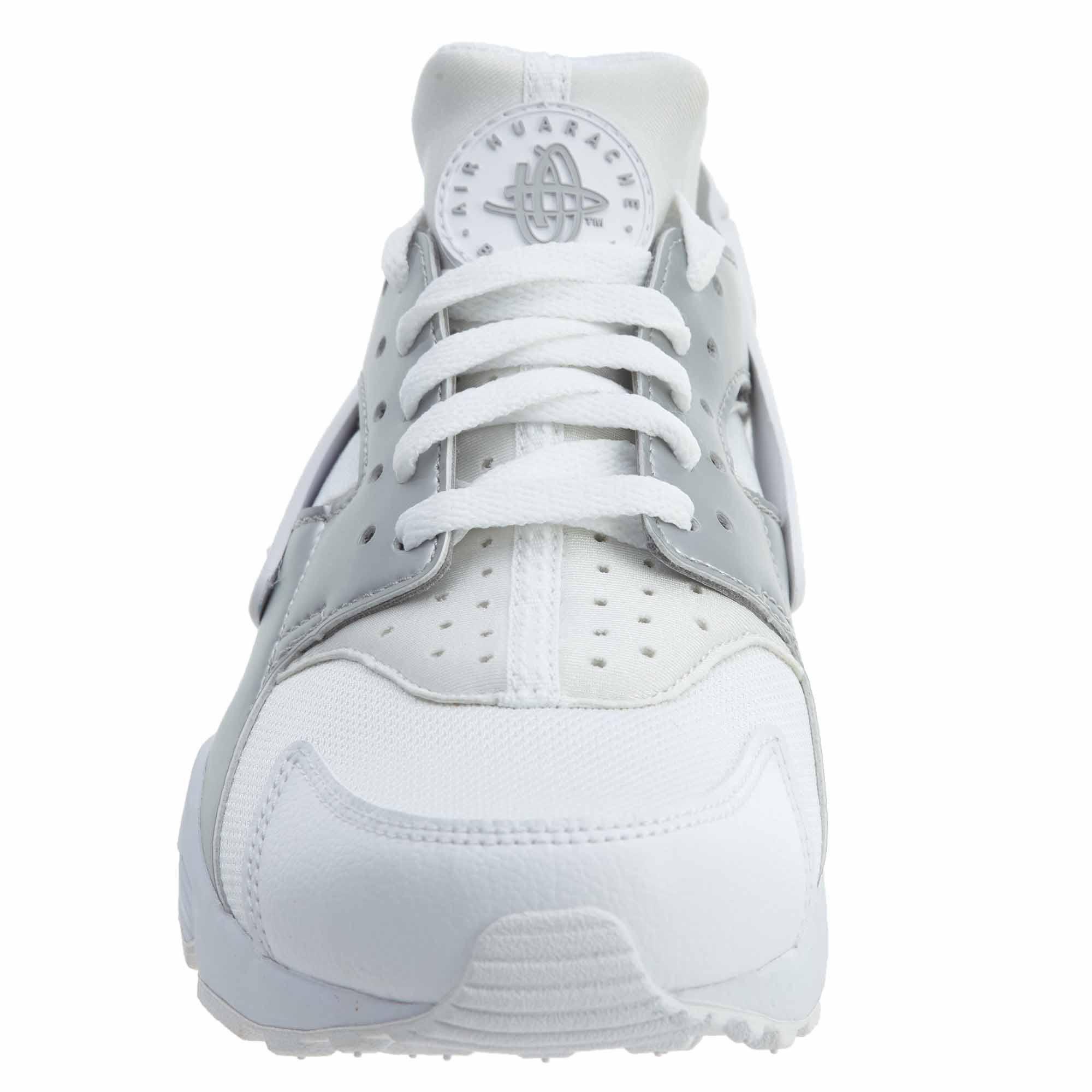Nike Mens318429BiancoArgento Stile metallizzato 5 7 Huarache Air DWEI9H2