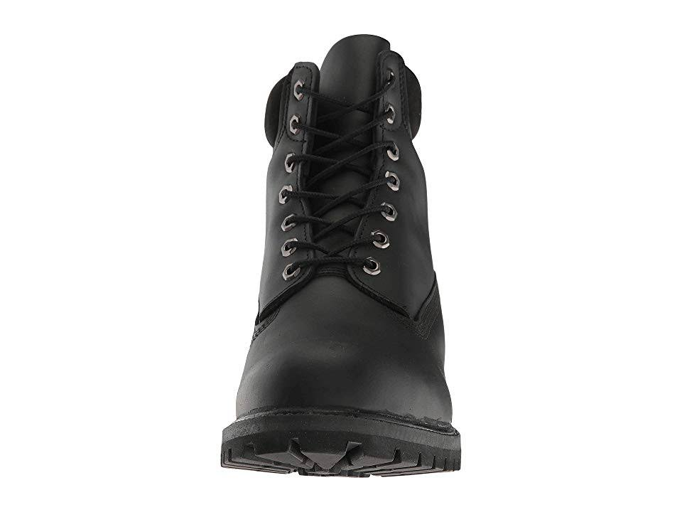Smooth 6 10 Icon Leather Black Black Premium Boot Inch Green Tb010054001 Timberland fqOvUw