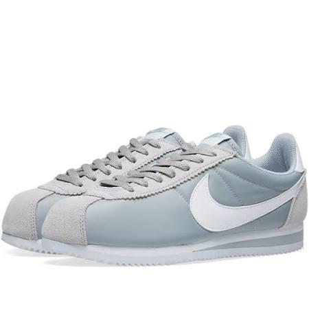 Grey White 7 Classic Shoe Nylon Wolf Size Nike Cortez amp; 5 grey PzHCU