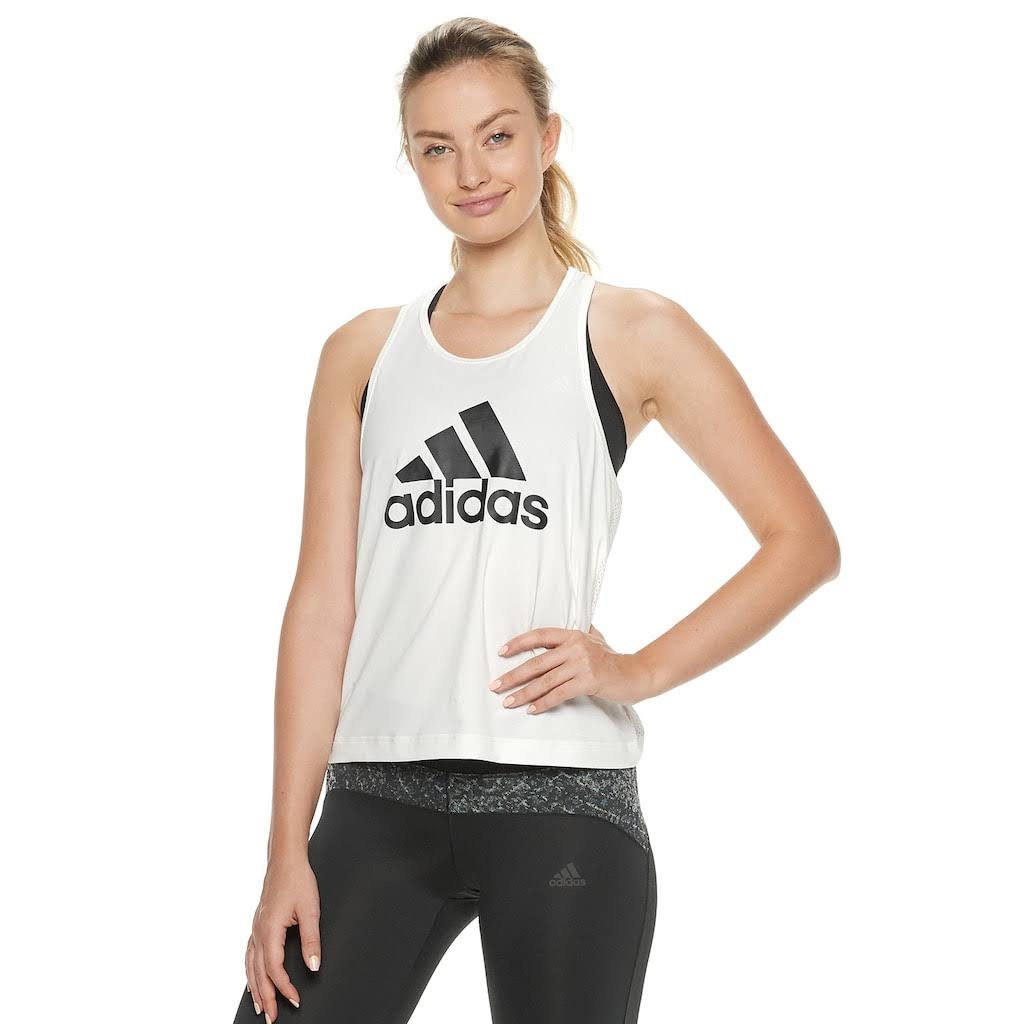 Größe Xl Womens Weiß Move Adidas 2 Design Tanktop Sqx0YR