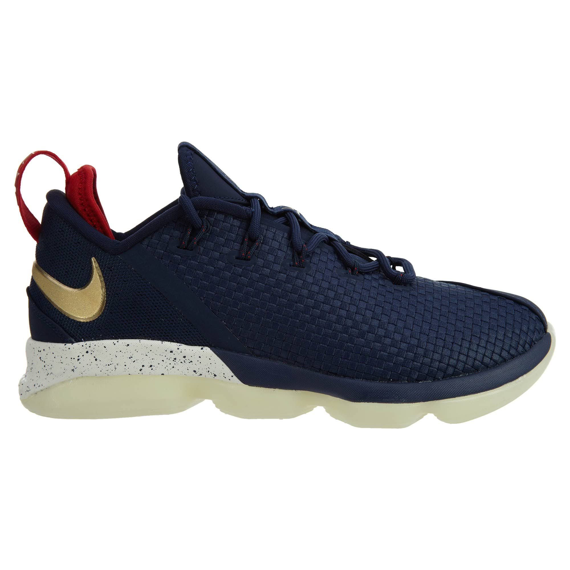9 Para Estilo Medianoche Dorado Lebron 878636 Hombre Tamaño Xiv Low Nike Metálico qwU8Xn