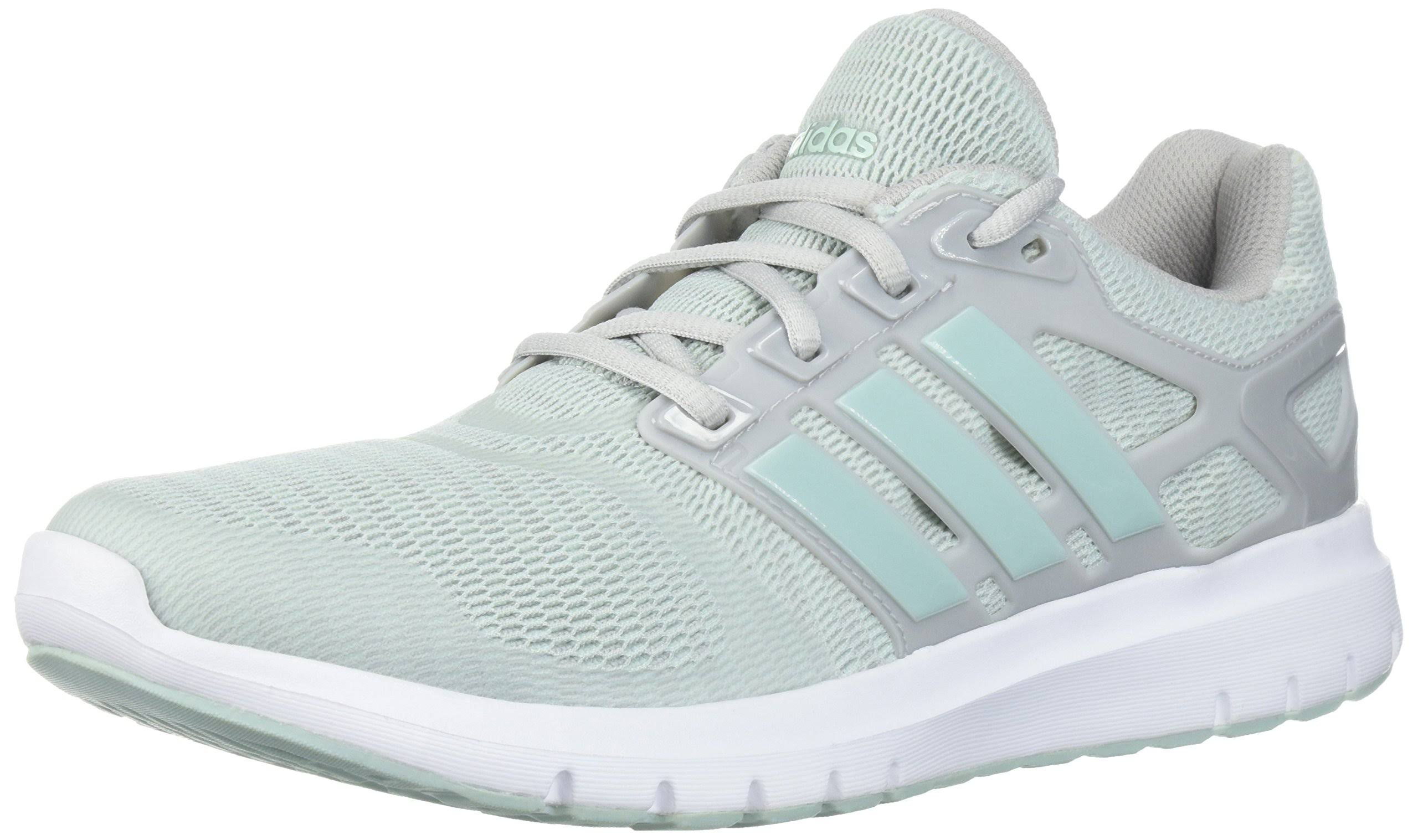 Verde De Energy Mediano Ceniza Running Zapatillas Gris Para Tamaño Adidas Cloud Mujer 7 PFdfw