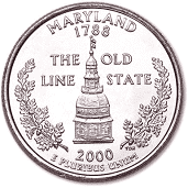 2000-P Maryland Statehood Quarter