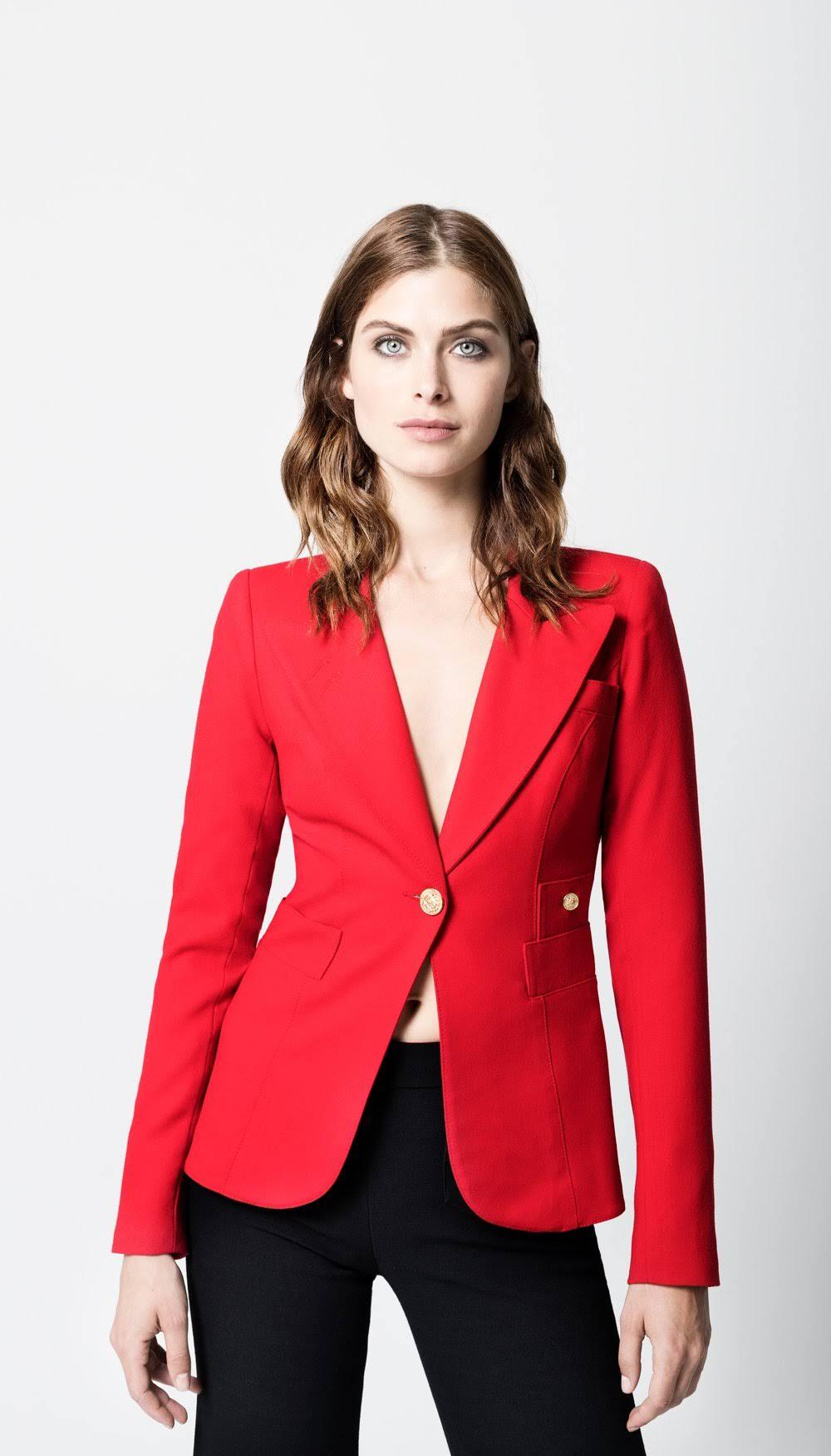Duchess Shopsmythe Red Blazer In 14 Smythe H7pqO7Y