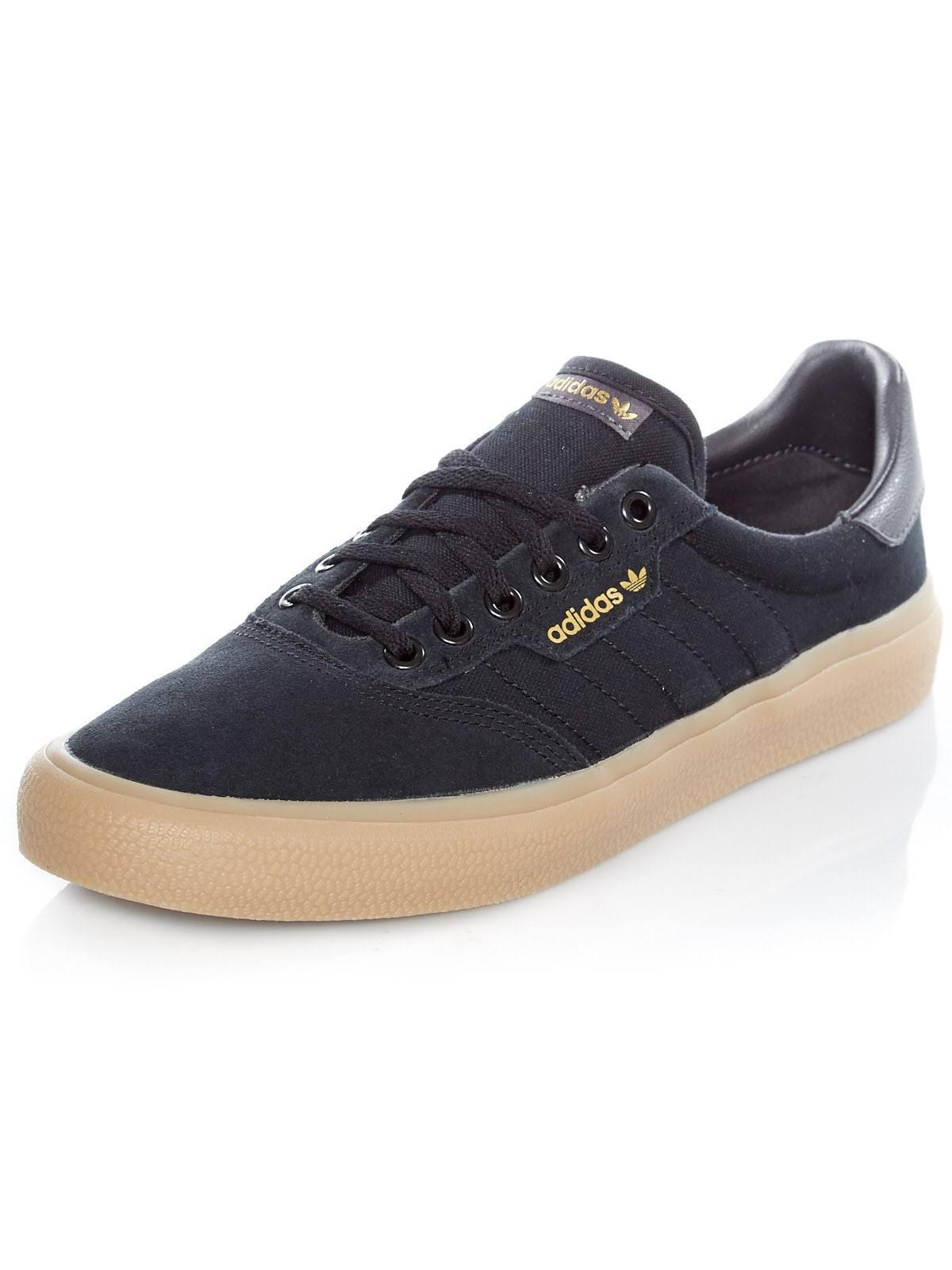 Adidas 3MC Vulc Shoes - Core Black/Solid Grey/Gum