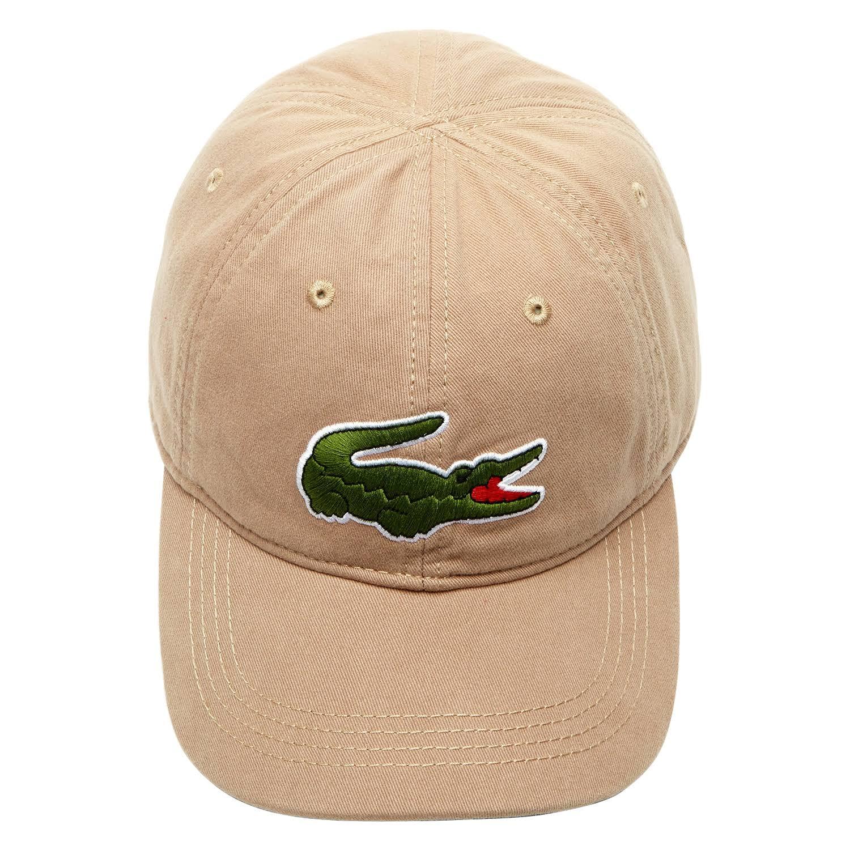 Beige Kraft Herren Hut Lacoste Big Gabardine Croc dwTxxY0q