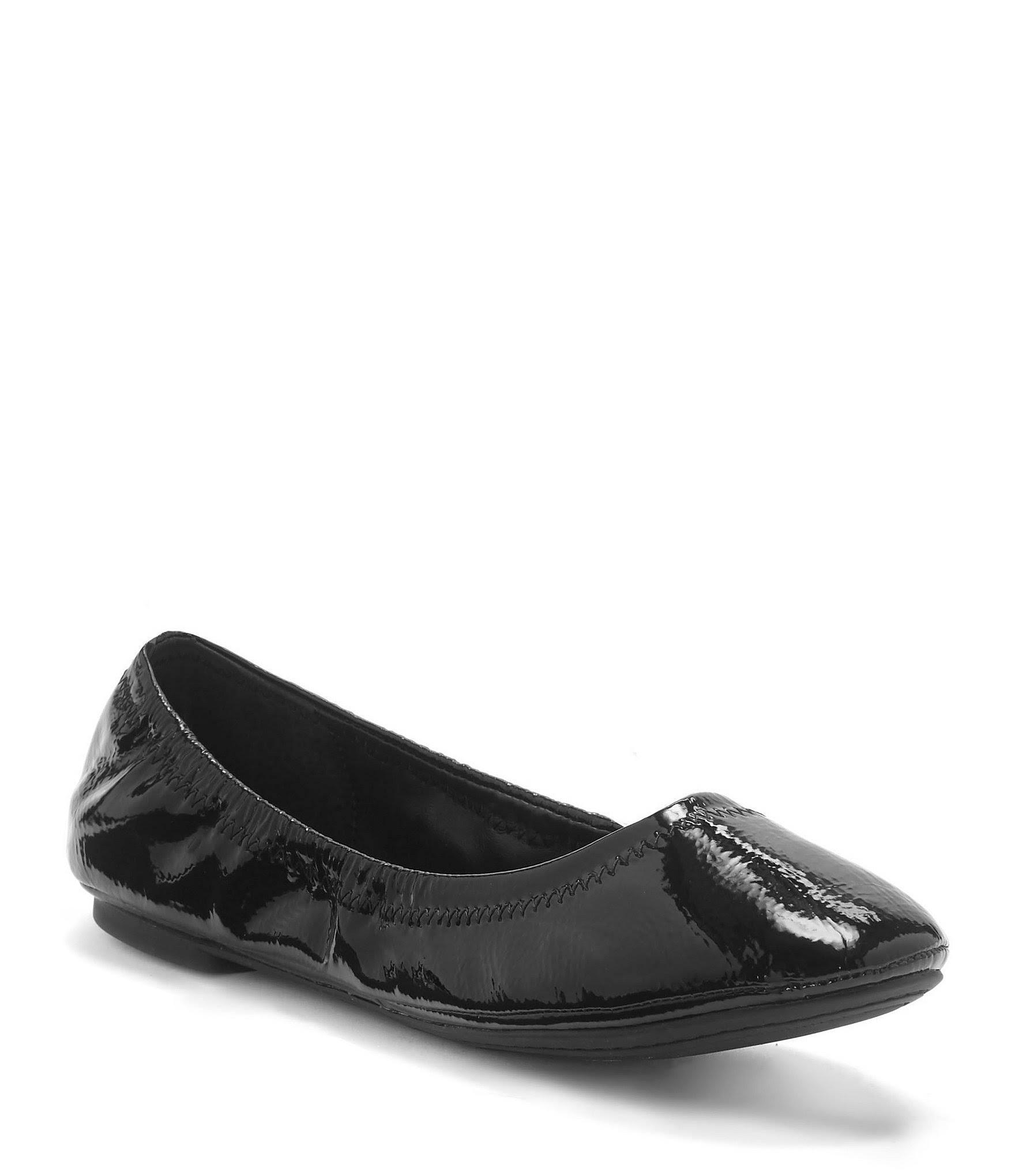 Lucky Brand FlatBrevetto Ballet Nero Emmie jAq4R53L
