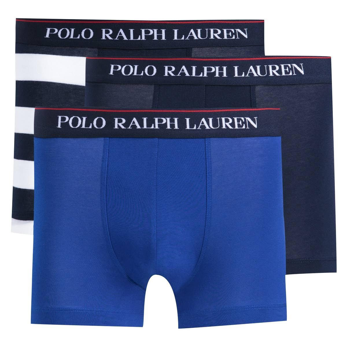 Marinho Lote Boxers 3 Ralph Azul Lauren Polo De 0pqwW8EE
