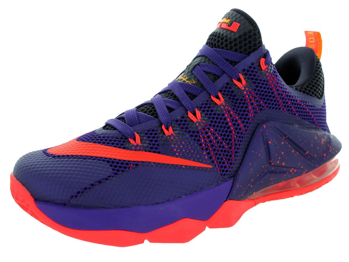 Lebron Carmesí Court Low Nike Bright 12 Purple dzdYwqf