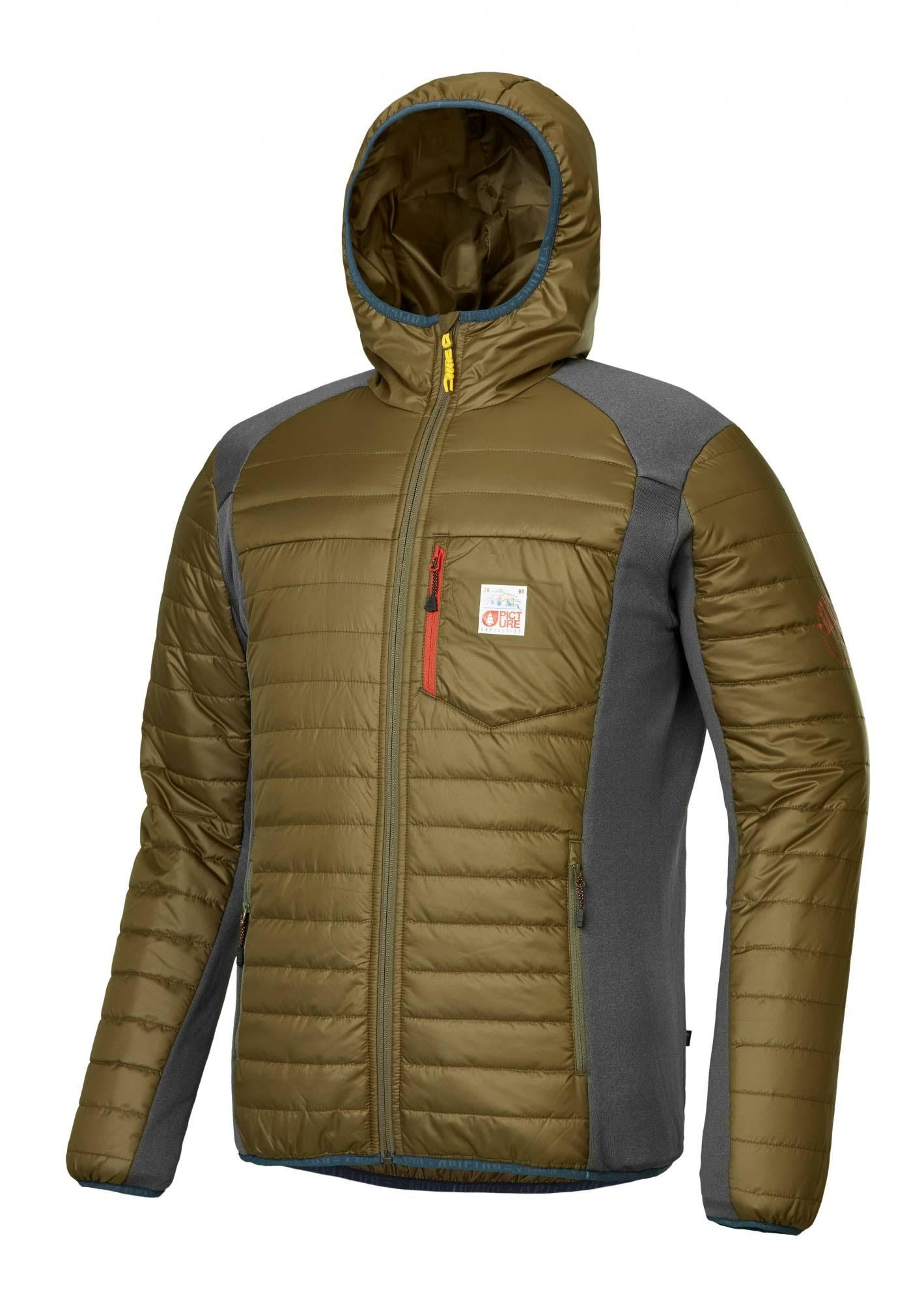 Hoodie Bild Insulated Khaki bekleidung M Takashima Herren Bio XPqPwZ6