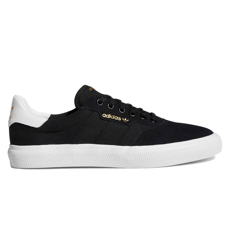 Adidas Skateboarding 3MC Vulc Shoes Black White